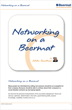 Networking On A Beermat.